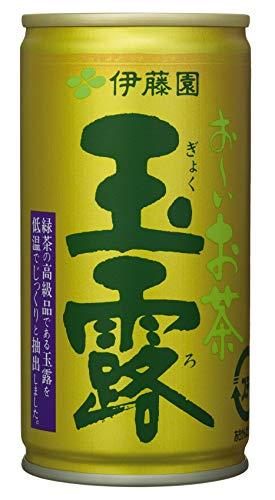 おーいお茶 玉露 (缶) 190g×30本