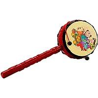 中国の特徴的な教育玩具楽器ラトルドラム