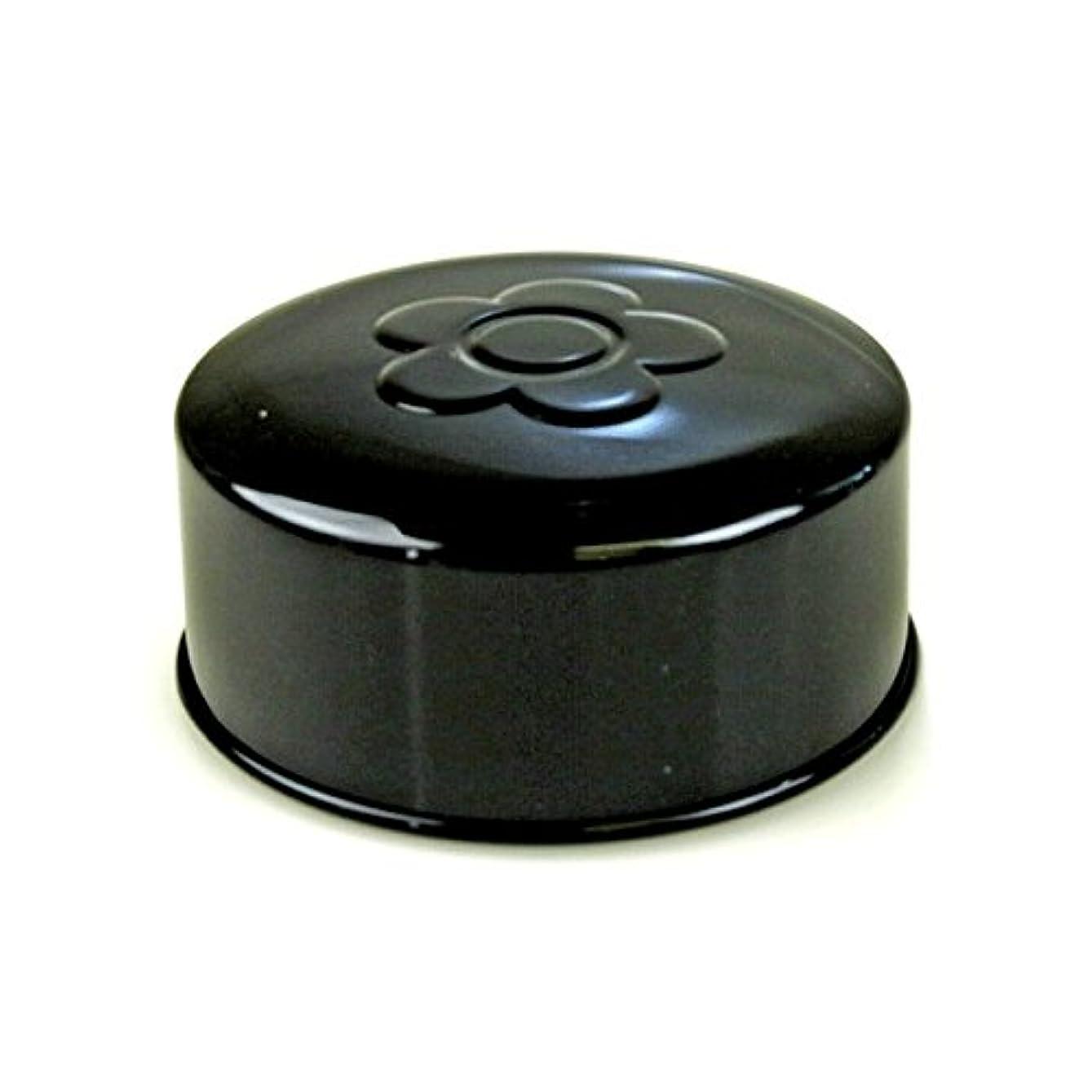 生産性ひいきにする薬を飲む(マリークワント)MARY QUANT アクセサリーケース ボックス パウダー 小物入れ メイク小道具 化粧 コスメ デイジー 花柄 フラワー ブラック ラウンド 化粧 メイク コスメ