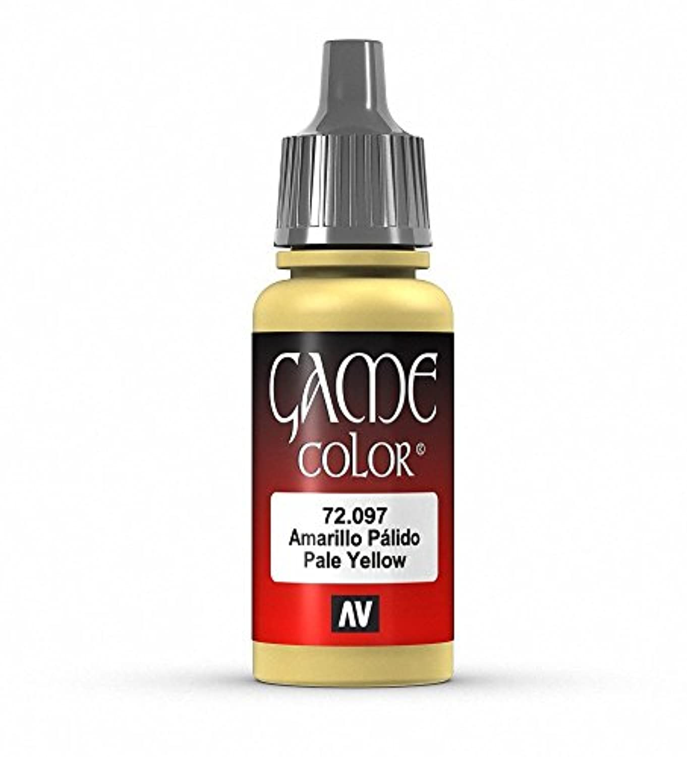 Vallejo Game Color Pale Yellow Paint, 17ml [並行輸入品]