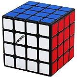 FAVNIC マジックキューブ 魔方【磁石搭載】 立体パズル 競技用 ポップ防止 こども 脳トレ ブラック(【磁石搭載…