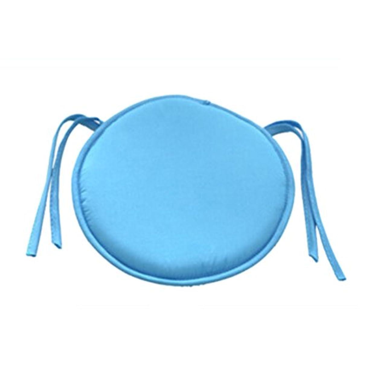 オーク登録するコントロールSMART ホット販売ラウンドチェアクッション屋内ポップパティオオフィスチェアシートパッドネクタイスクエアガーデンキッチンダイニングクッション クッション 椅子