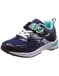 [シュンソク] 運動靴 通学履き 瞬足 大型スパイク 軽量 V8 15~23cm 2.5E キッズ 女の子 LEC 5710
