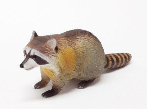 食玩 チョコエッグ 日本の動物 第4弾 100 アライグマ