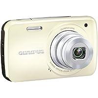 OLYMPUS デジタルカメラ VH-210 ホワイト 1400万画素 光学5倍ズーム DIS ハイビジョンムービー 3.0型LCD 広角26mm 3Dフォト機能 VH-210 WHT