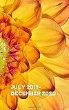 JULY 2019 - DECEMBER 2020: 5x8 BRIGHT SUNFLOWER 18 month calendar planner organizer journal diary : July 2019 start December 2020 end