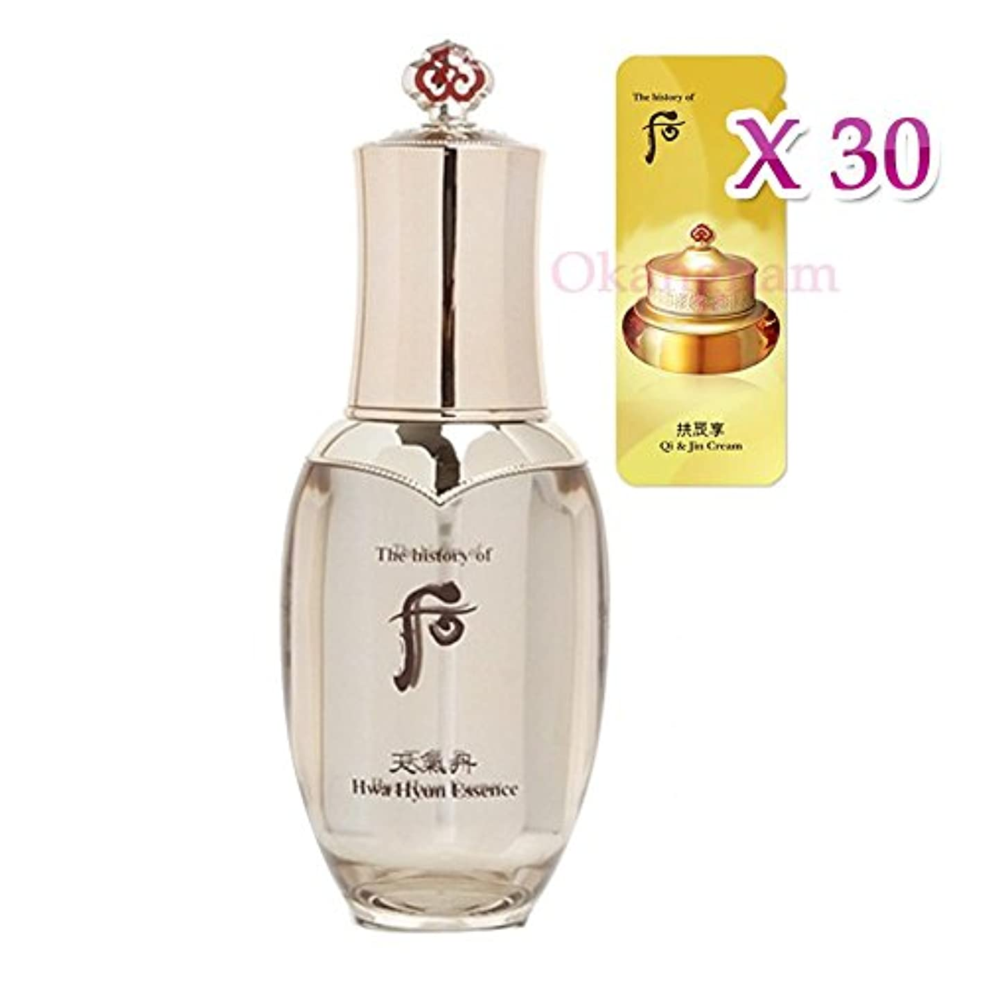 二次告白おなじみの【フー/The history of whoo] Whoo 后 CK03 Hwahyun Essence/后(フー) 天気丹(チョンギダン) ファヒョンエッセンス50ml + [Sample Gift](海外直送品)