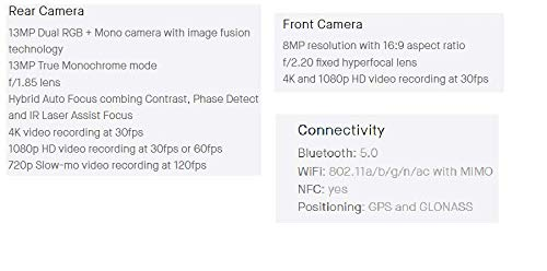 『Essential Phone 128 GB Unlocked Titanium and Ceramic phone with Edge-to-Edge Display - Halo Gray – [並行輸入品] (Halo Gray)』の5枚目の画像