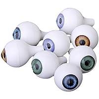 SONONIA 16個セット お買い得 人形の目  ドールアイ  20mm 4色 ラウンド  眼  目  DIY ハンドメイド修理用  アクセサリー