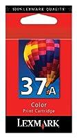 Lexmark 37A (18C2160) Color OEM Genuine Inkjet/Ink Cartridge - Retail by Lexmark [並行輸入品]