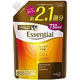 【大容量】エッセンシャル しっとりツヤ髪シャンプー つめかえ用 730ml(2.1個分)
