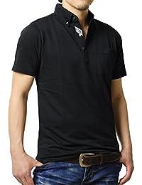 (アルージェ) ARUGE ポロシャツ メンズ 半袖 ボタンダウン おしゃれ クールビズ ビジカジ 大きいサイズ M L LL XL 2L/A8L