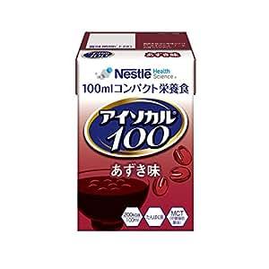 Nestle (ネスレ) アイソカル 100 あずき味 100ml×24