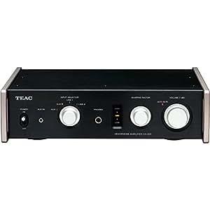 TEAC Reference 501 ヘッドホンアンプ フルアナログデュアルモノーラルサーキット ハイレゾ音源対応 ブラック HA-501-B