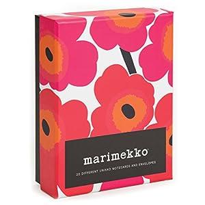 Marimekko Notes: 20 Different Unikko Notecards and Envelopes (Stationery)