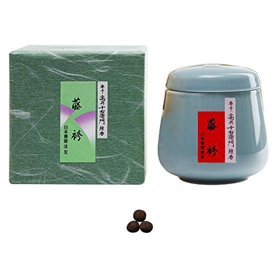 不安定な褐色ビーチ香十 練り香 藤袴 壺