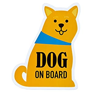 MAYPOLE メッセージステッカー DOG ON BOARD ZME-13241