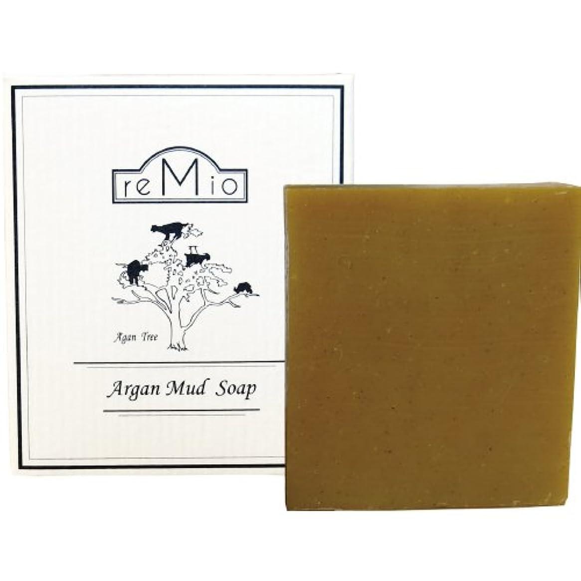 病なキャラバンレイアウトレミオ(REMIO) アルガンクレイ石鹸