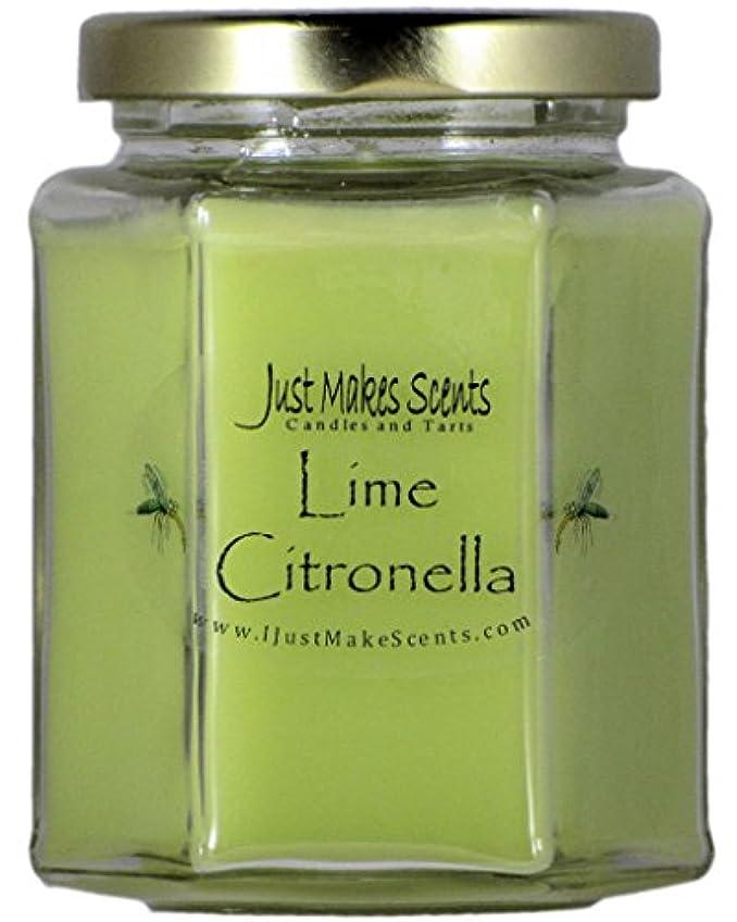 狂ったエトナ山コンセンサスシトロネラ(虫除け)香りつきBlended Soy Candle屋内使用だけでMakes Scents CS-663H-A4VP