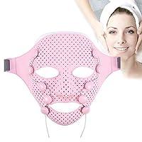 電気フェイシャルマスク、EMS振動美容マッサージアンチリンクルマグネットマッサージフェイシャルスパフェイスマスク