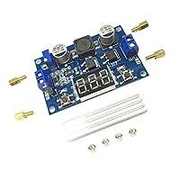 B Baosity 100W 昇圧コンバータ デジタル電圧レギュレータ ステップアップ 調整可能 3.5-35V出力