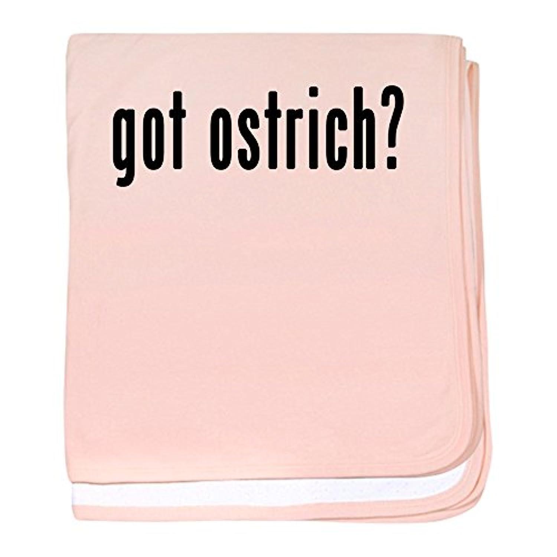 CafePress – Got Ostrich – スーパーソフトベビー毛布、新生児おくるみ ピンク 06203453306832E
