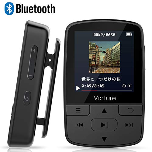 Victure MP3プレーヤー ブラックM3 B07BF3XBB3 1枚目