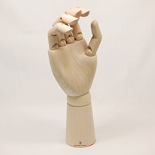 BEATON JAPAN 木製ハンドモデル 男性サイズ右手(30cm)
