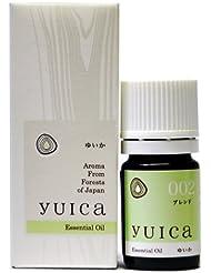 yuica エッセンシャルオイル(やすらぎブレンド) 5mL