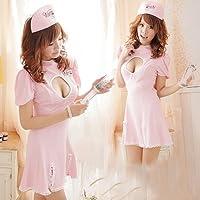 ナース 看護婦 コスプレ ピンク sh052