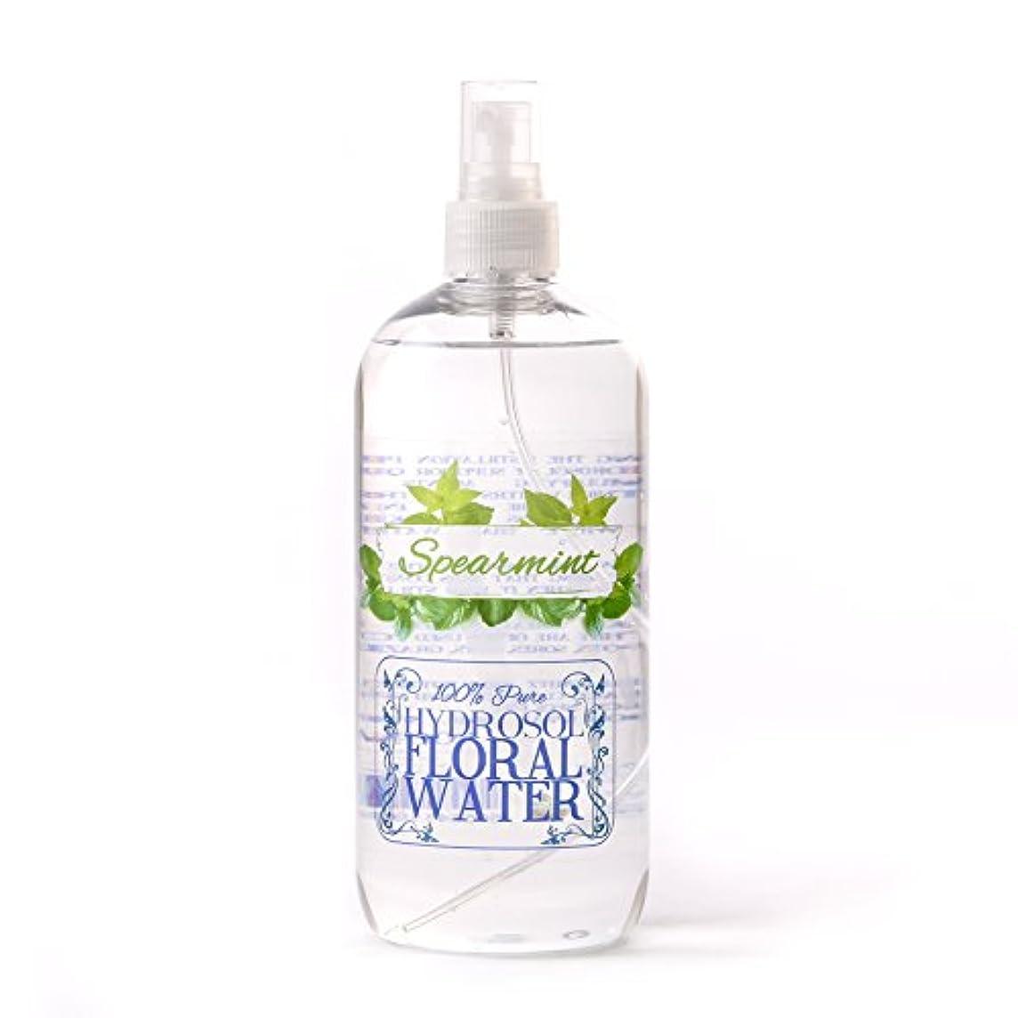 タービン住居健康Spearmint Hydrosol Floral Water With Spray Cap - 1 Litre