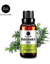 RAINBOW ABBY ローズマリーエッセンシャル オイル ディフューザー アロマ セラピー オイル (30ML/1oz) 100% ピュアオーガニック 植物 エキスローズマリー オイル