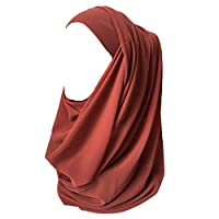 Lina & Lily Fashion Medium Weight Chiffon Hijab Head Scarf Wrap
