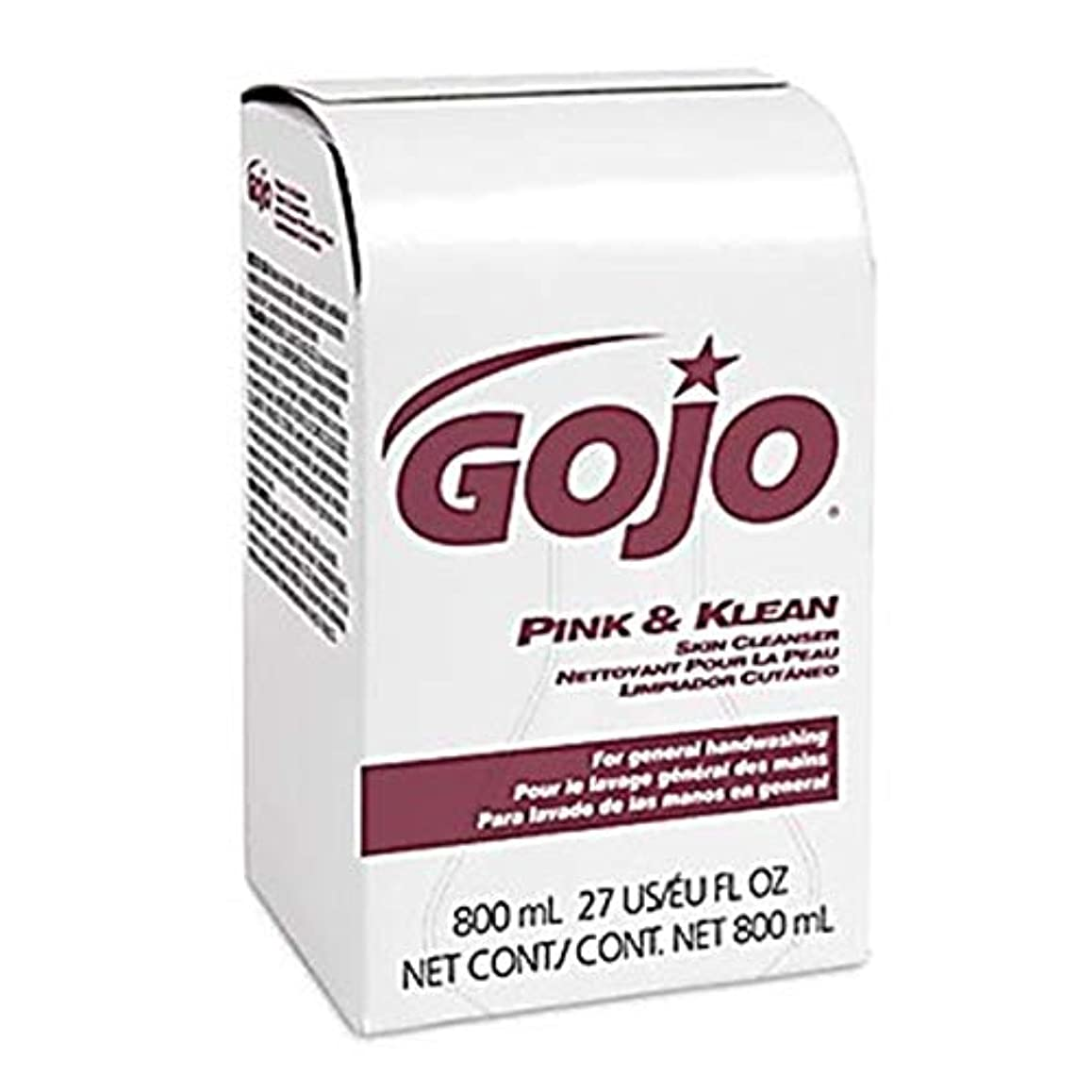 に付けるミキサー排除するPink + Klean Lotion Hand Soap Refill, 800ml GOJ912812 by Gojo