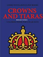 Coloring Books for 2 Year Olds (Crowns and Tiaras)