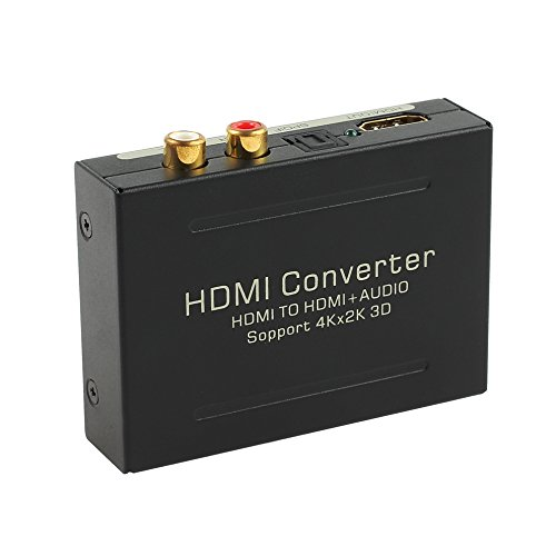 Proster デジタル 4K対応 HDMIから音声信号分離...