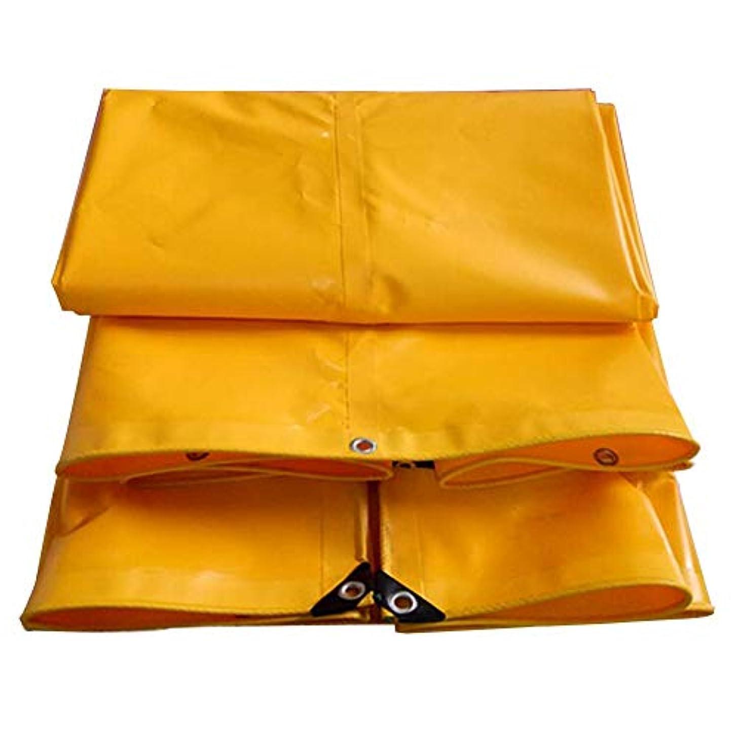 保全貫入密接に19-yiruculture 防水布防水防水シート防水防水シートキャンプマットカーゴ日焼け止め絶縁耐摩耗性、高温アンチエイジング (Color : 黄, サイズ : 2x1.5M)