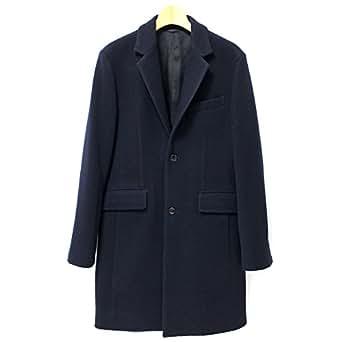 [イチマイルグラトリー] ICHIMILE GRATORY チェスターコート メンズ コート チェスターフィールドコート アウター chesterfield coat 紳士服 メンズ服】 青 紺 ネイビー サイズ2