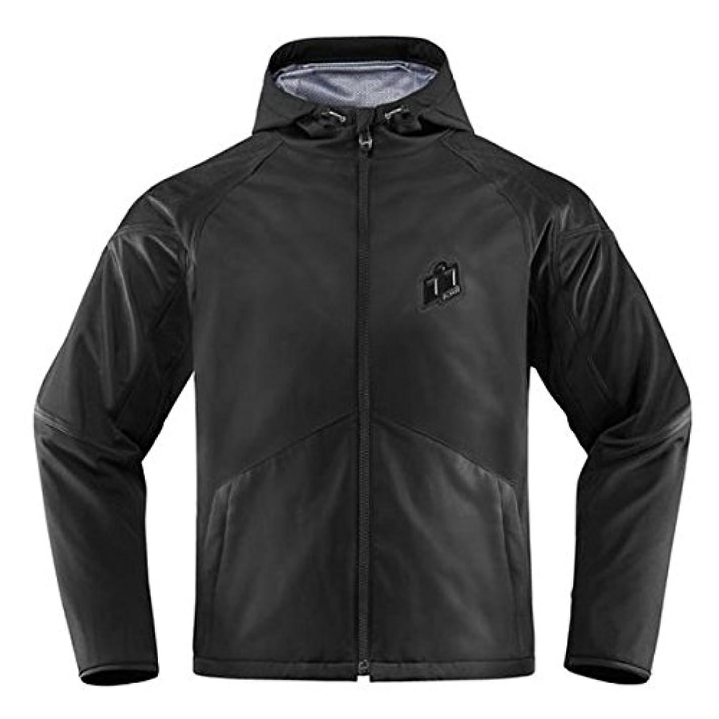 濃度綺麗な平らなICON アイコン MERC STEALTH Jacket 2017モデル ジャケット ステルス XL