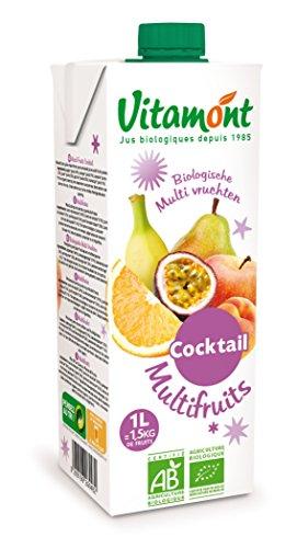 ヴィタモン オーガニック マルチフルーツ ジュース 1L
