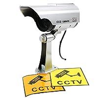 Wing Man(ウィングマン) ダミーカメラ 屋内 屋外 バレット型 防犯カメラ ソーラーパネル搭載