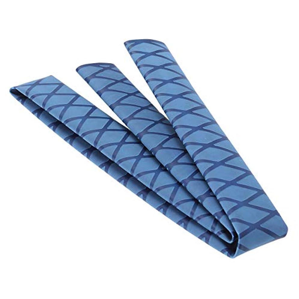 終わらせる緊張するケープLIOOBO ノンスリップチューブラップチューブ保護ポリオレフィン熱収縮滑り止めロッドアクセサリーハンドルスリーブカバー(ブラック)