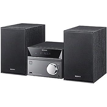 ソニー SONY マルチコネクトミニコンポ CMT-SBT40 : Bluetooth/FM/AM/ワイドFM対応 シルバー CMT-SBT40 S