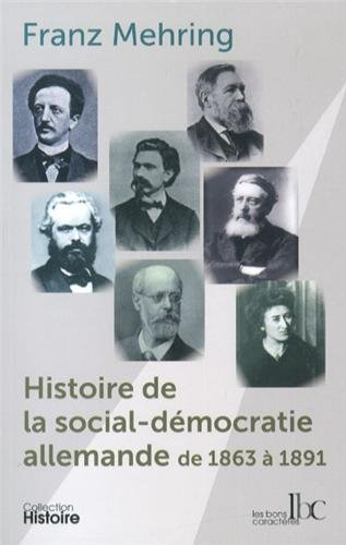 Histoire de la social-démocratie allemande de 1863 à 1891