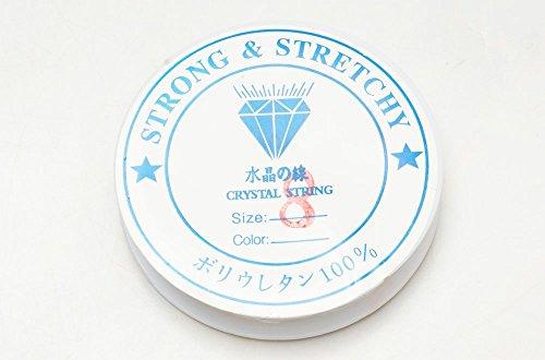 シリコンゴム ブレスレット用 ゴム紐 0.4mm/0.6mm/0.8mm/1mm...