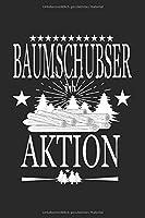 Skizzenbuch Baumschubser in Aktion Staemme: Forstwirtschaft I Zeichenblock I 100 Seiten