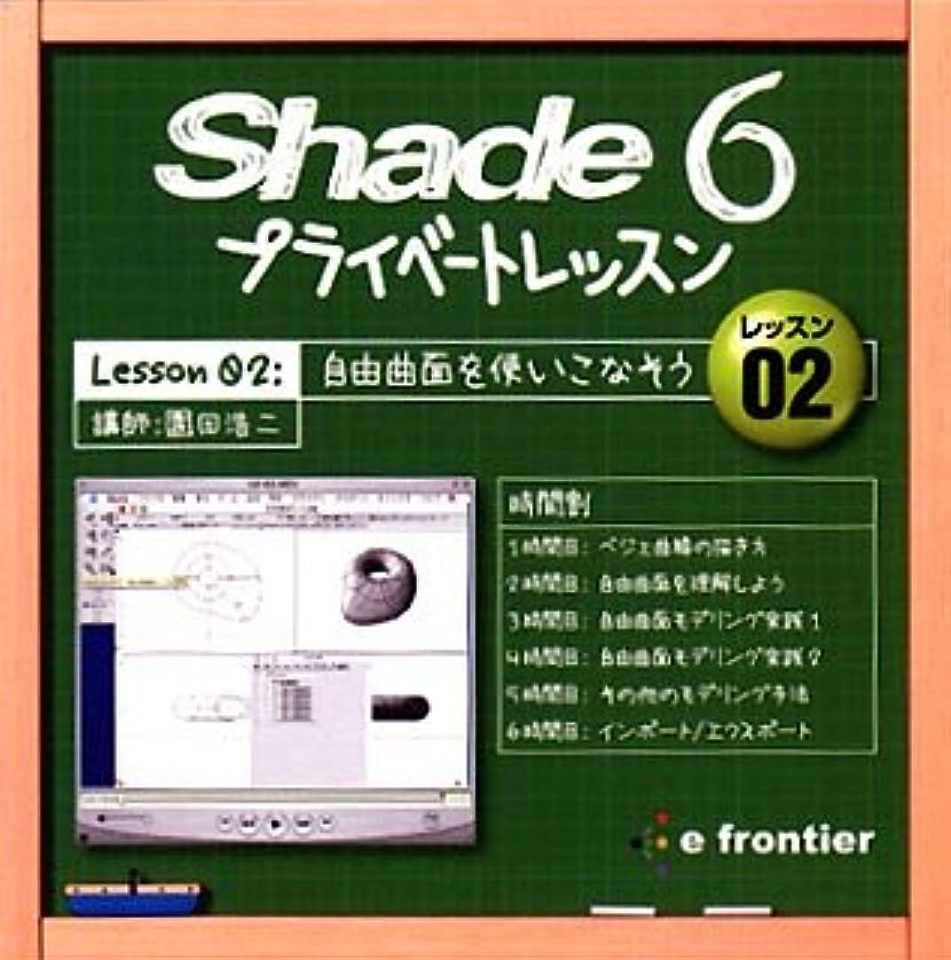 テキストどちらも運搬Shade 6 プライベートレッスン Lesson 02:自由曲面を使いこなそう