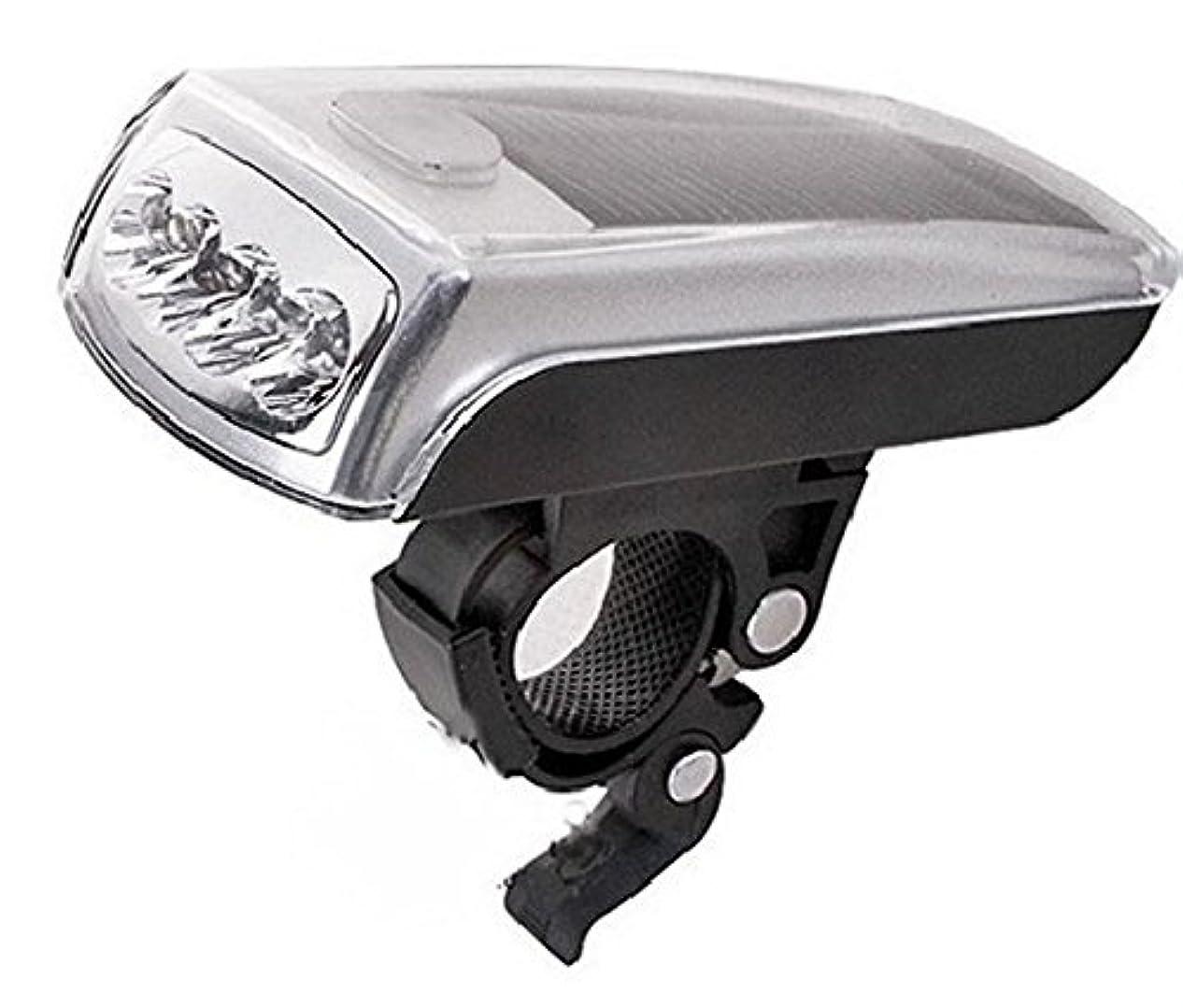 権限を与えるビュッフェ運動4 Leds Bike Flashing USB Rechargeable Light LED Solar Bicycle Front Light by Seeing-eye