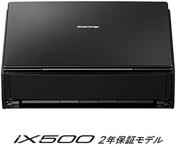 富士通 シートフィーダスキャナ ScanSnap ブラック FI-IX500A-P