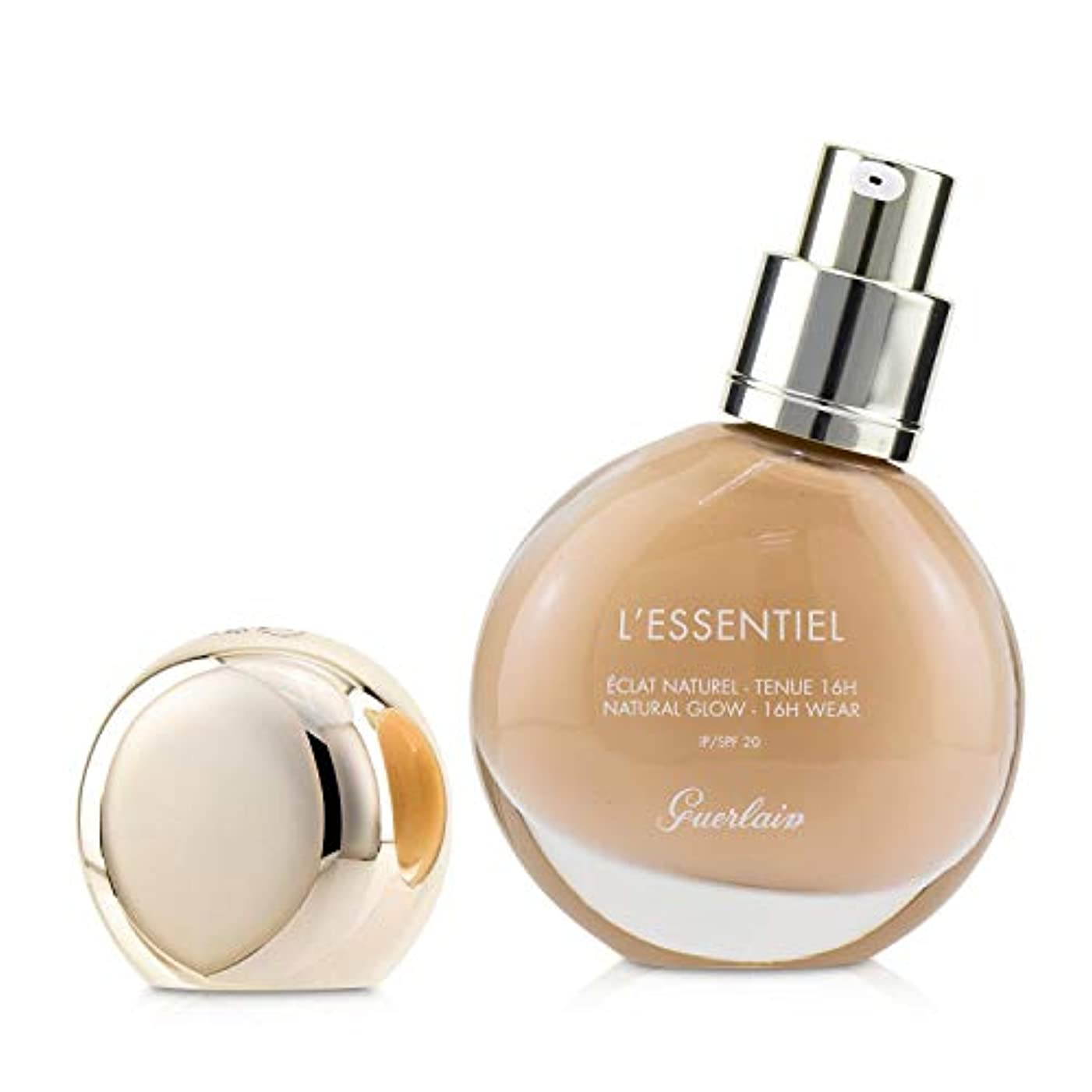 庭園逆さまに証明書ゲラン L'Essentiel Natural Glow Foundation 16H Wear SPF 20 - # 035C Beige Cool 30ml/1oz並行輸入品